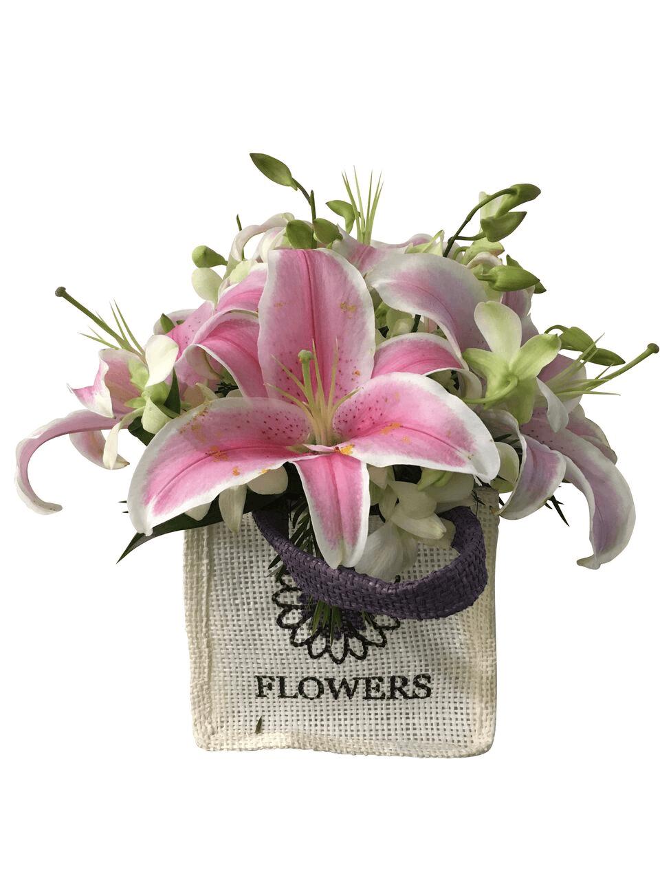 Buy Cute Flower Bag Online Blooms Only