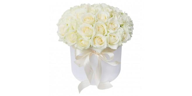 White Roses Box