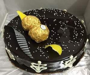 Hazelnut Ferrero Rocher Cake (1/2 Kg)