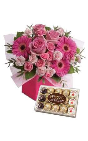 Pretty Pink Choco Surprise